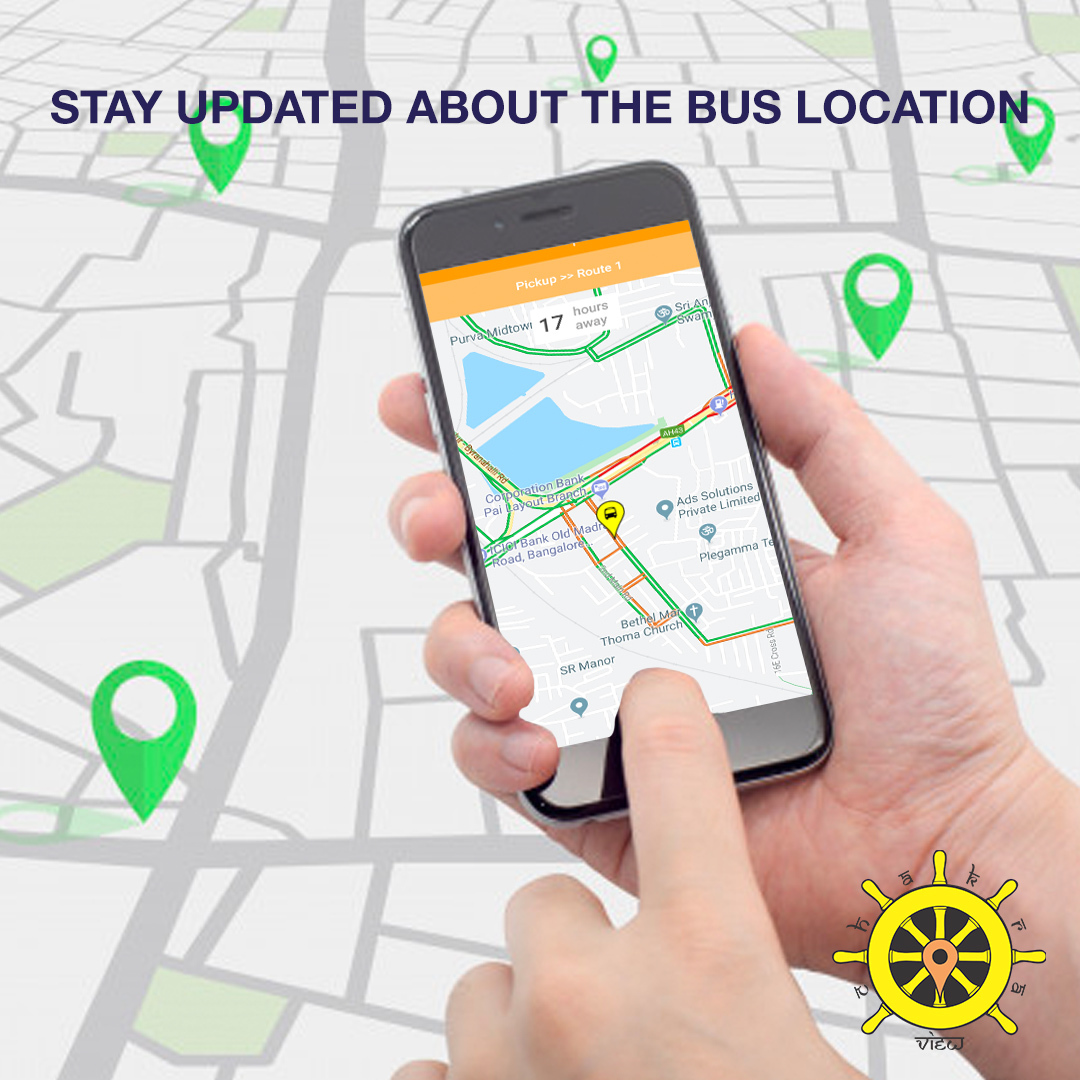 Stay updated about the bus location